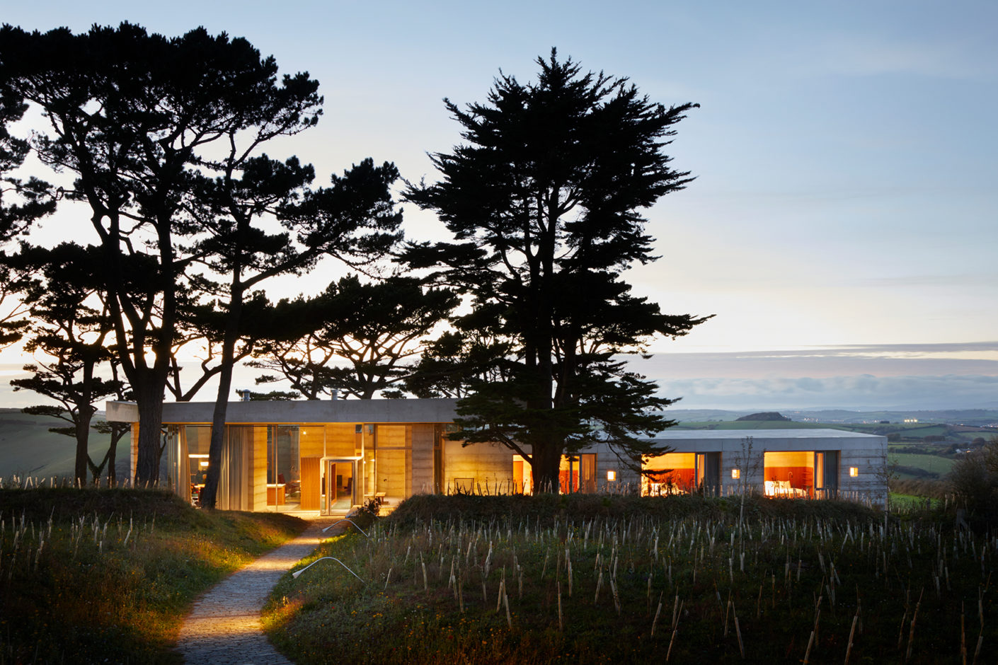 The villa is the latest project of the holiday home developer Living Architecture, who has already realised houses with John Pawson or the Dutch office MVRDV.