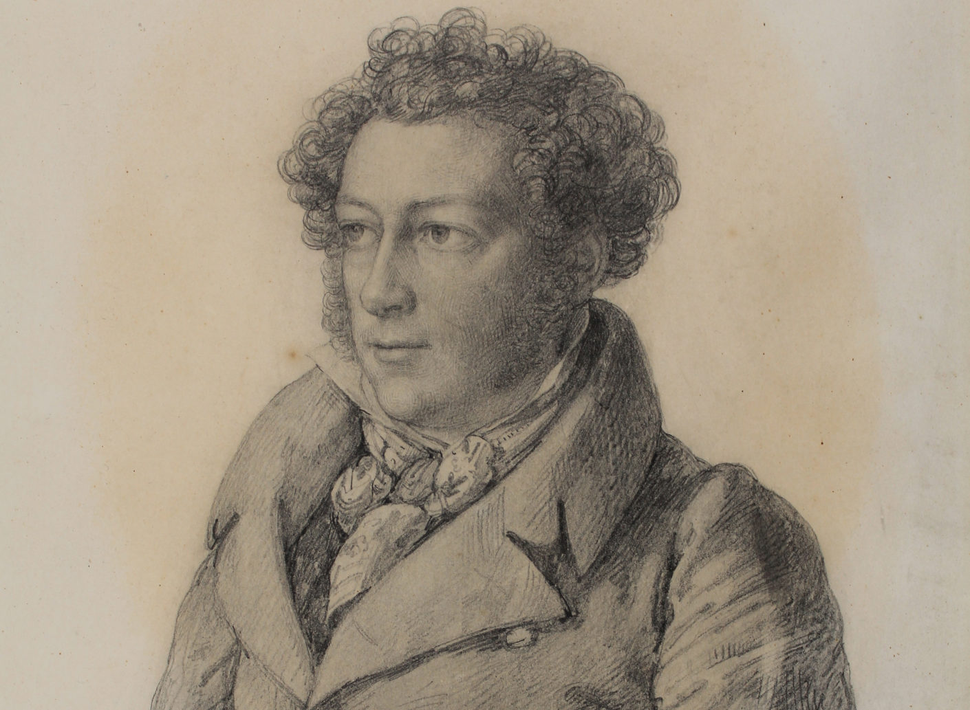 Portrait Jakob Ignaz Hittorff by  Carl Joseph Begas from 1821