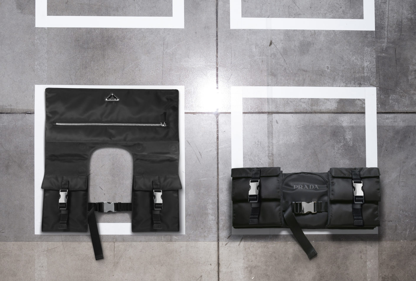 Bag by Elisabeth Diller from the New York architectural office Diller Scofidio + Renfro