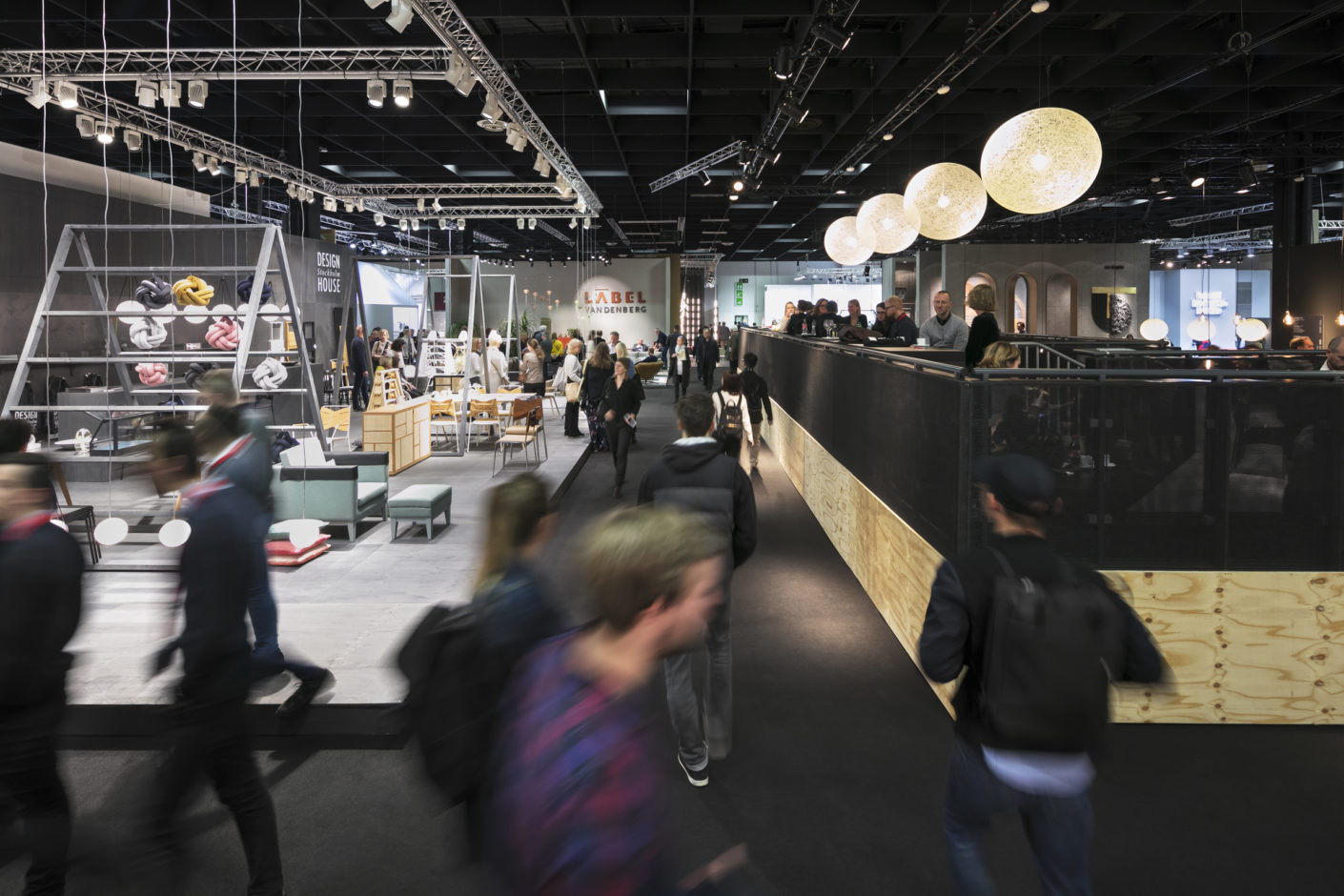 Numerous catering areas in the exhibition halls will be completely redesigned for imm cologne 2019.