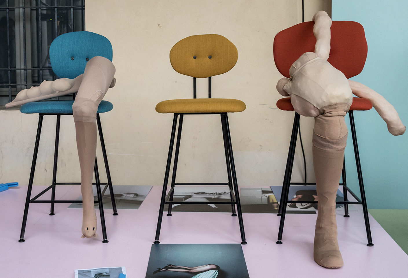 """Work by Alet Pilon and the """"101A Chair"""""""