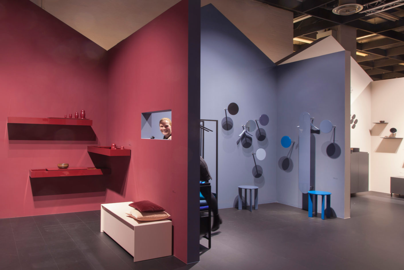 At The Imm Cologne You Could See Colorful Furniture Eve