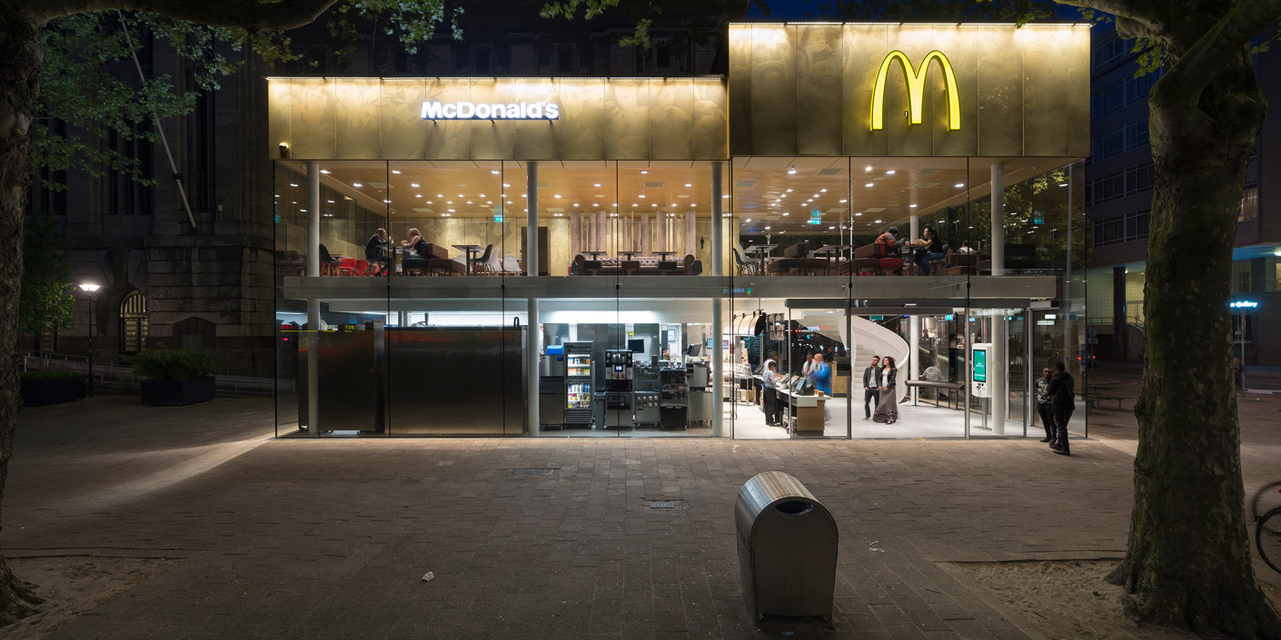 Photo Gallery: Good architecture for McDonalds in Batumi and Rotterdam