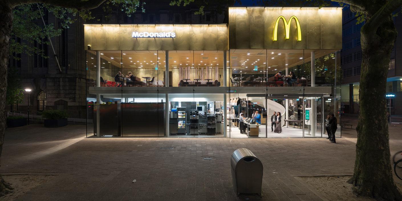 Bildergalerie: McDonalds-Architektur in Batumi und Rotterdam