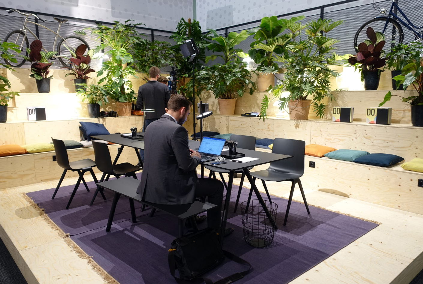 The Smart Coworking Lobby auf der Orgatec 2016