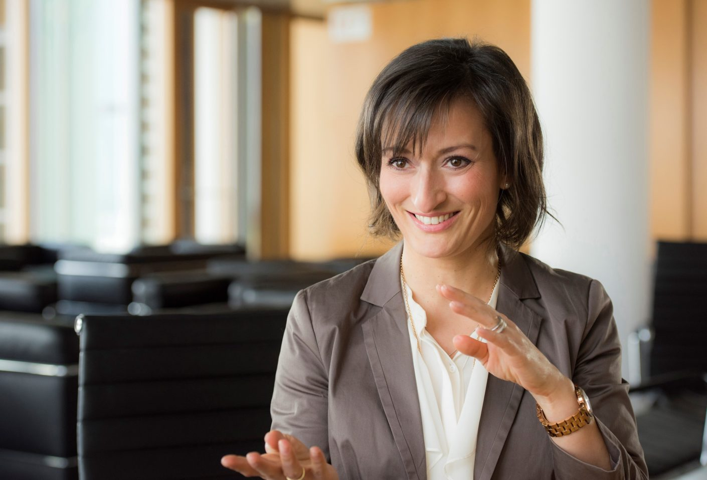 Sonia Wedell-Castellano has been Global Director of Domotex since 2018.