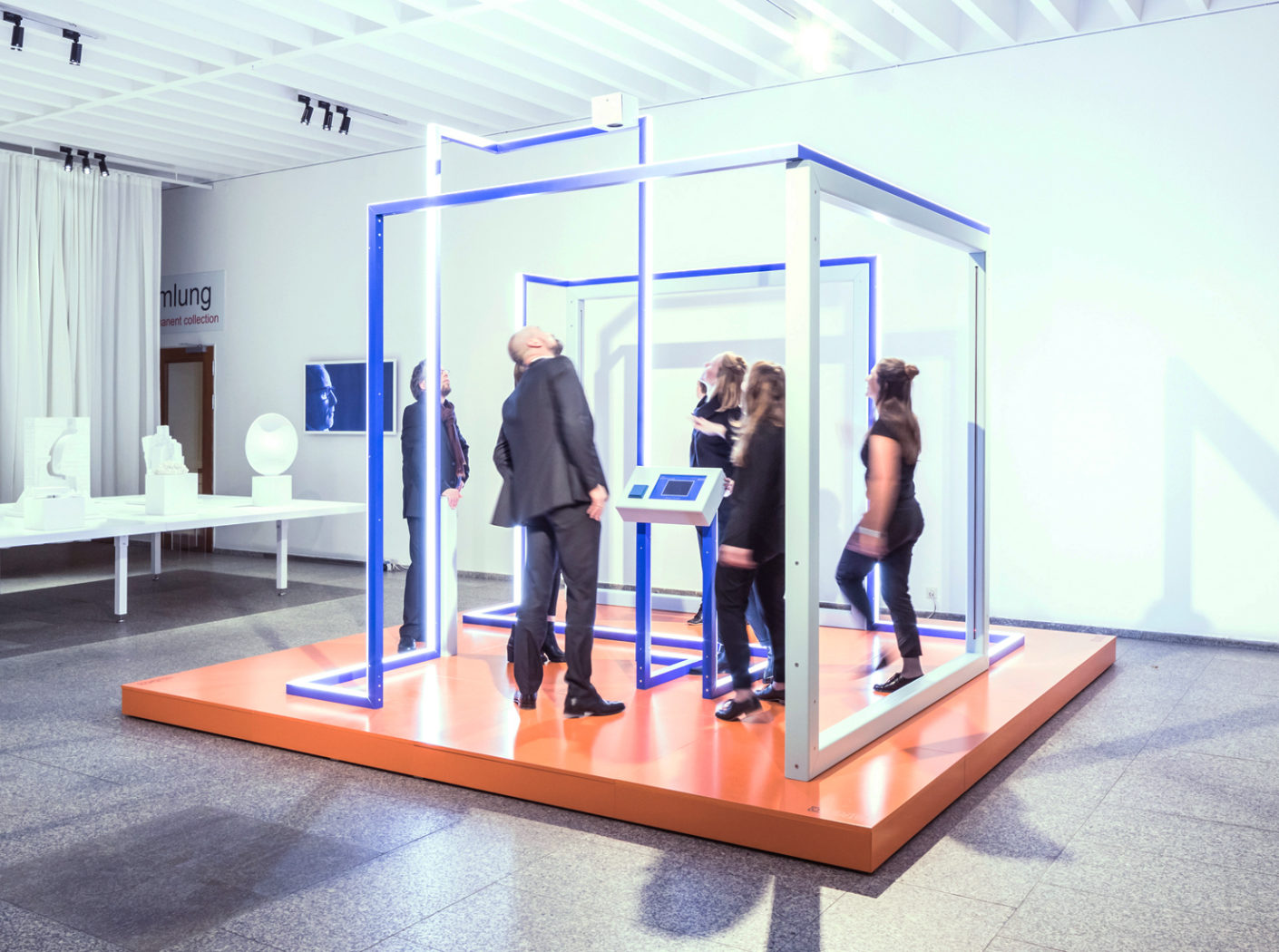 """""""Play to the gallery"""" is the title of the installation by Jung on view at Museum of Applied Arts Cologne parallel to the imm cologne until January 21, 2018."""