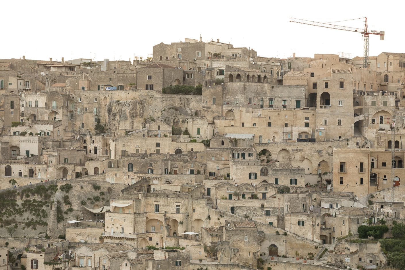 View over Matera