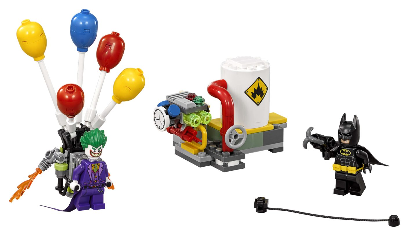 The Lego Batman Movie Jokers Flucht Mit Den Ballons