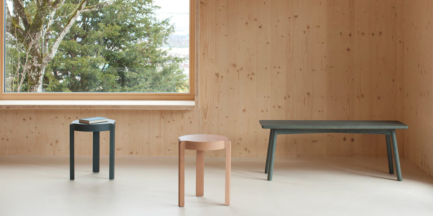 stattmann neue moebel seamless from stool to table stylepark. Black Bedroom Furniture Sets. Home Design Ideas