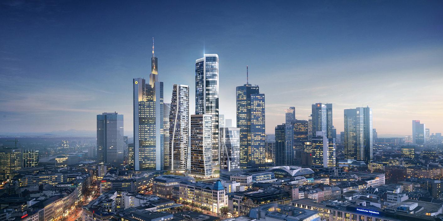 Bildergalerie: Frankfurter Hochhausprojekte
