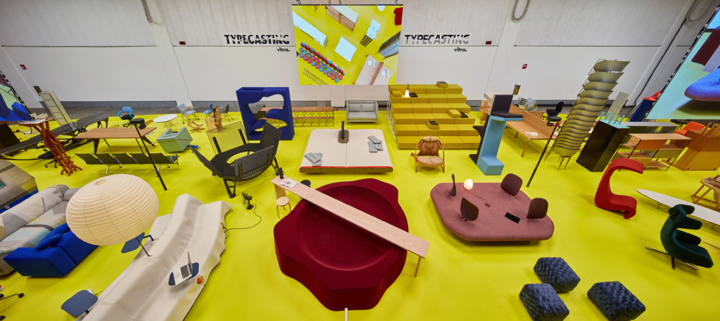 Austrian designer and curator Robert Stadler presented over 200 objects at the Salone del Mobile in Milan on behalf of furniture manufacturer Vitra.