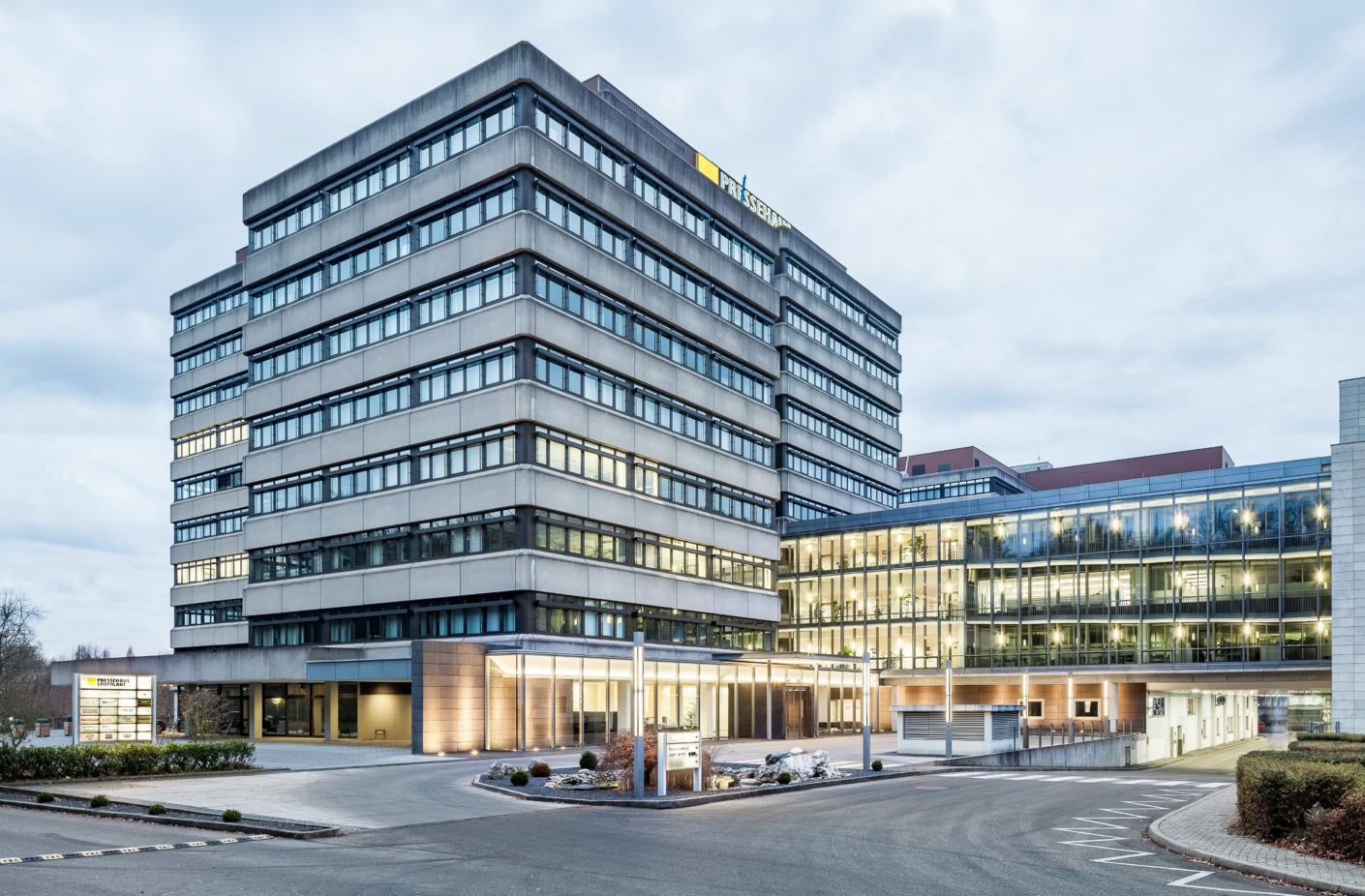Waldmann provides for the right light in the newsroom of the Stuttgarter Zeitung and Stuttgarter Nachrichten.