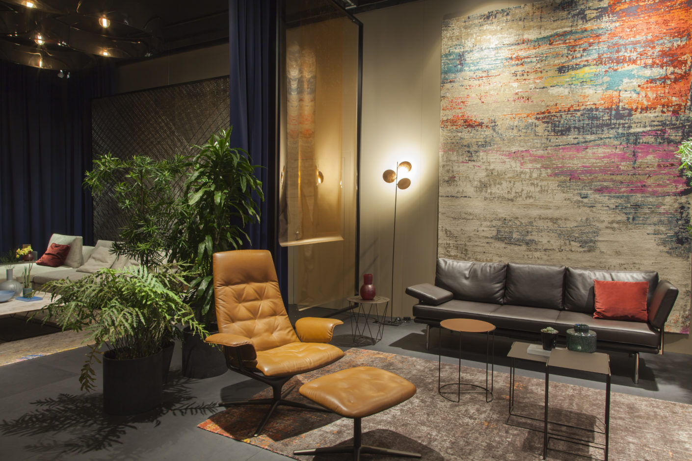 "The ""Legends of Carpets""-collection by Helmut Scheufele for Walter Knoll."