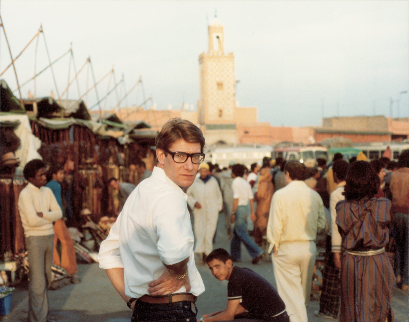 Yves Saint Laurent, Place Djemaa El Fna, Photo Reginald Gray, Stylepark