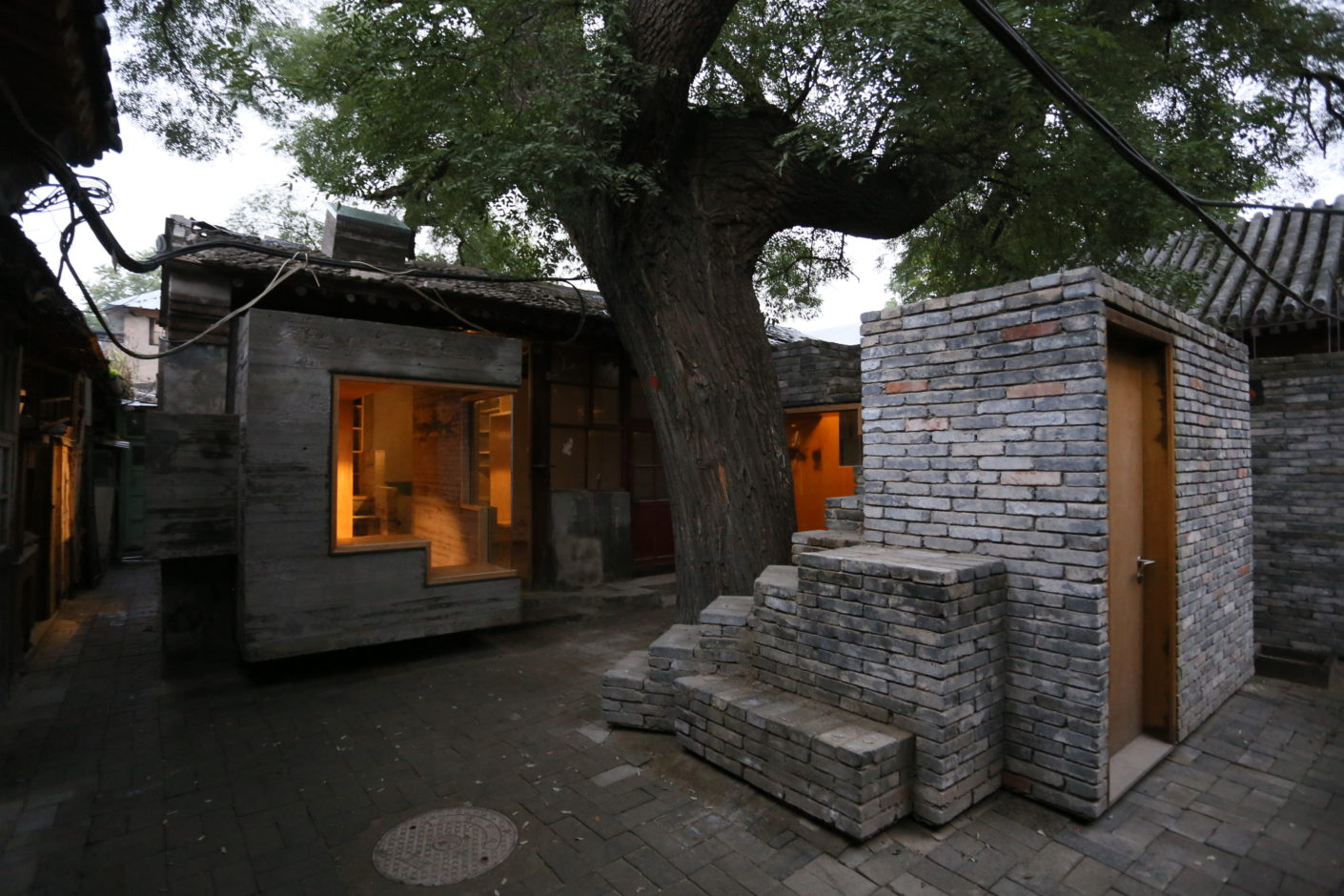 Micro Yuan'er by Zhang Ke, standardarchitecture, in Dashilar Hutong in Beijing, Beijing Design Week 2016