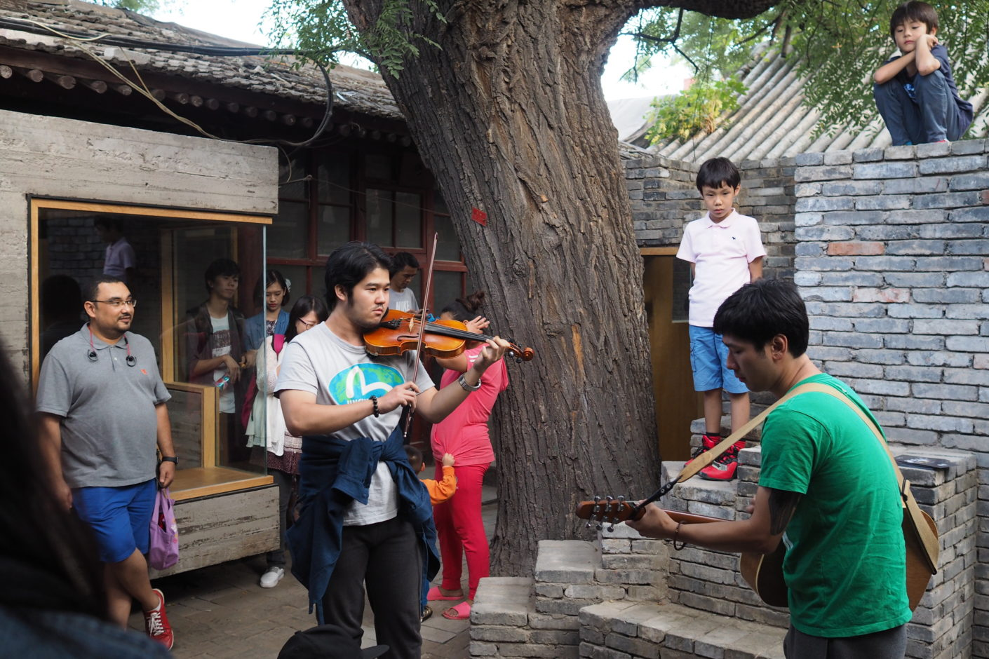 Micro Yuan'er by standardarchiteture / Zhang Ke in Dashilar Hutong in Beijing, Beijing Design Week 2016