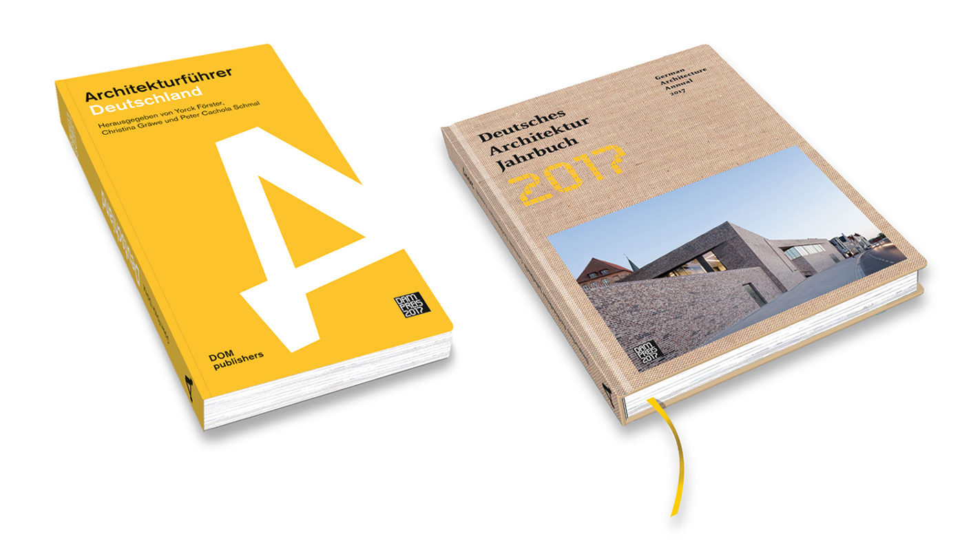 """One thing is two: From 2017, the German Architecture Yearbook is published every year as an """"architectural guide"""", in which almost 100 buildings of the year are gathered."""