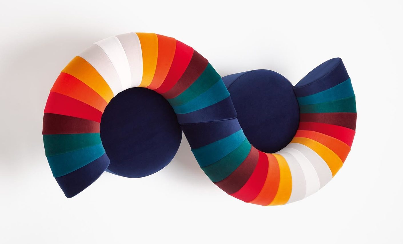 "Knit!"" by Kvadrat Knit! by Kvadrat Brings Together 28 Works Using Febrik's Knitted Textiles padstyle.com"