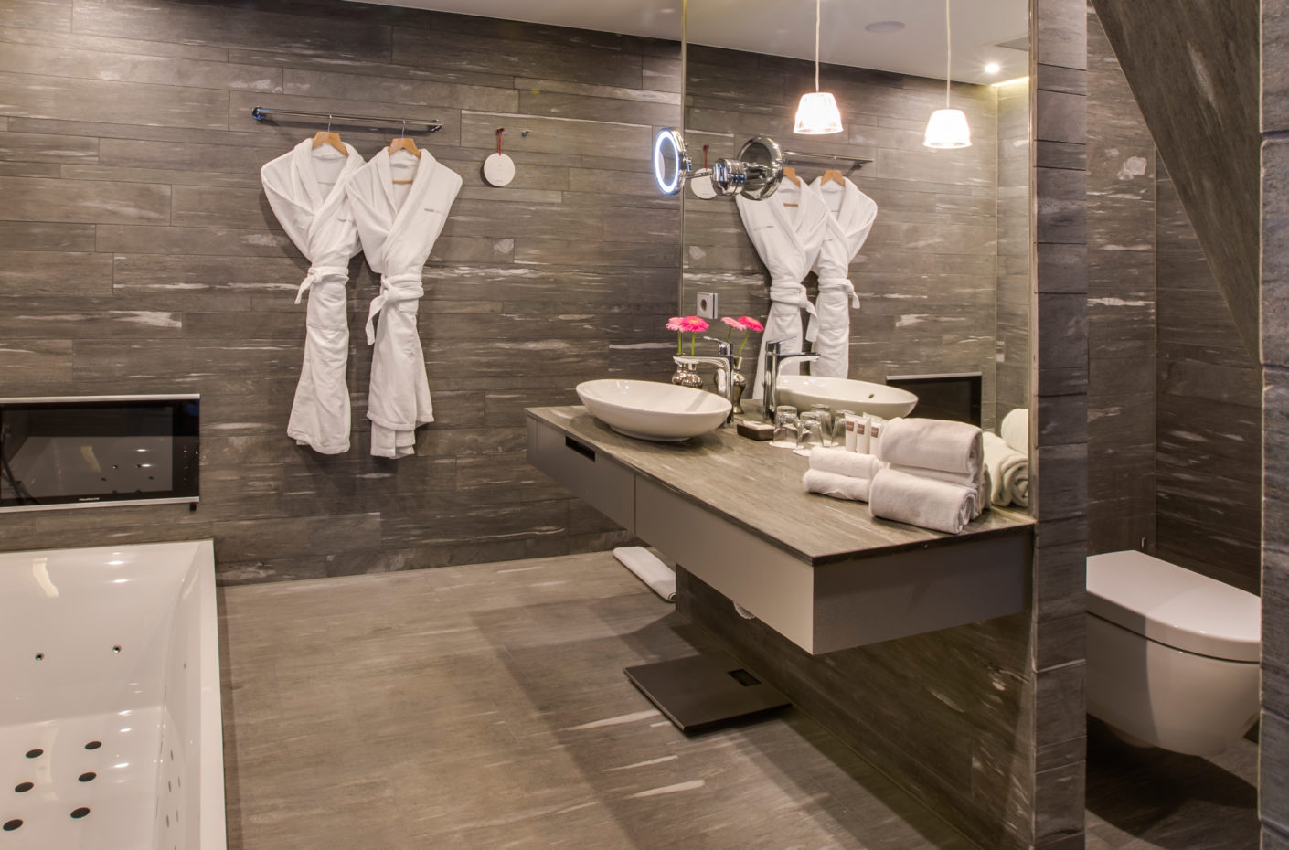 During the modernization the hotel prioritized products by Villeroy & Boch.