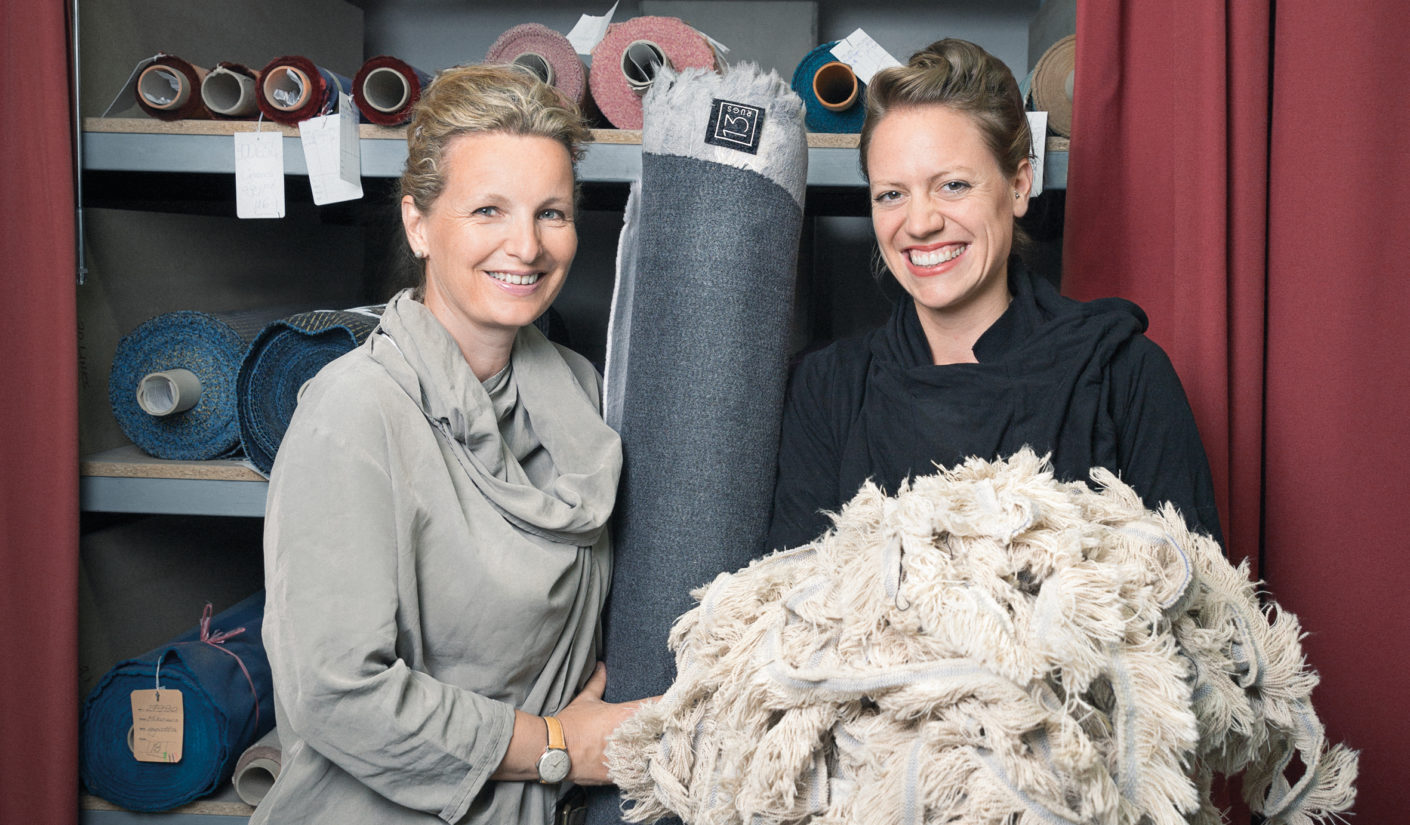 Tina Wendler (left) and Lara Wernert (right) presented the first collection at imm 2016. It received a tremendously positive reception, which was highlighted recently when it won the Material Prize 2016 in the Ecology category.