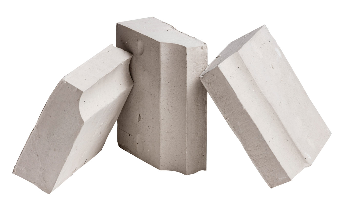 In order to be able to position the LEDs in the closed shell, Petersen produced hollow bricks.