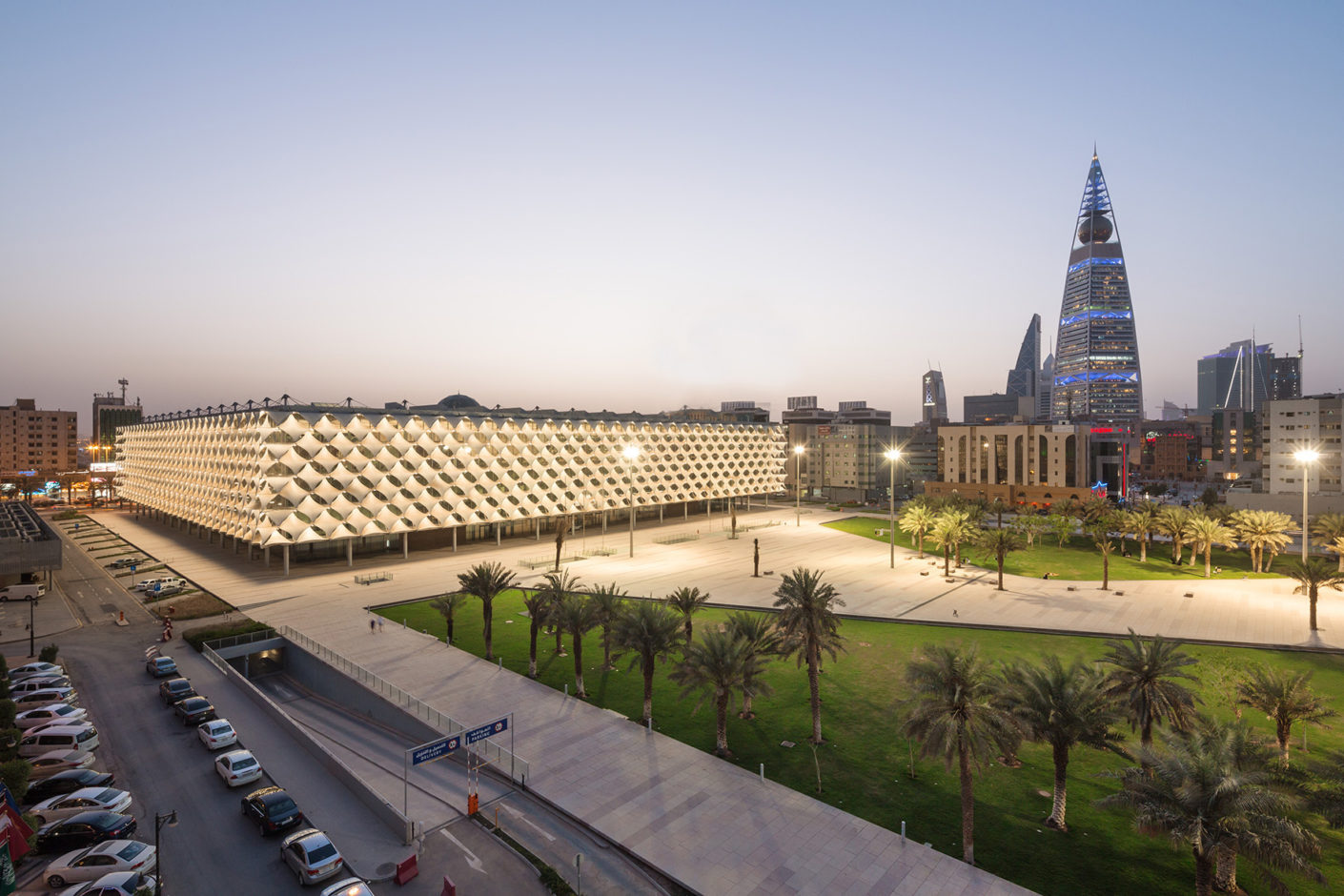 Gerber Architekten have designed the new King Fahad National Library in Riyadh.