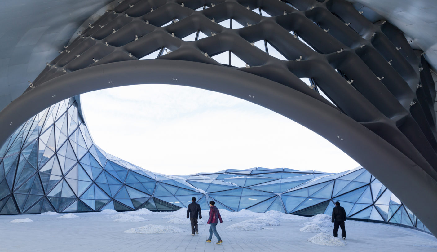 Harbin Opera House, Northern China, designed by MAD Architects, photo by Iwan Baan