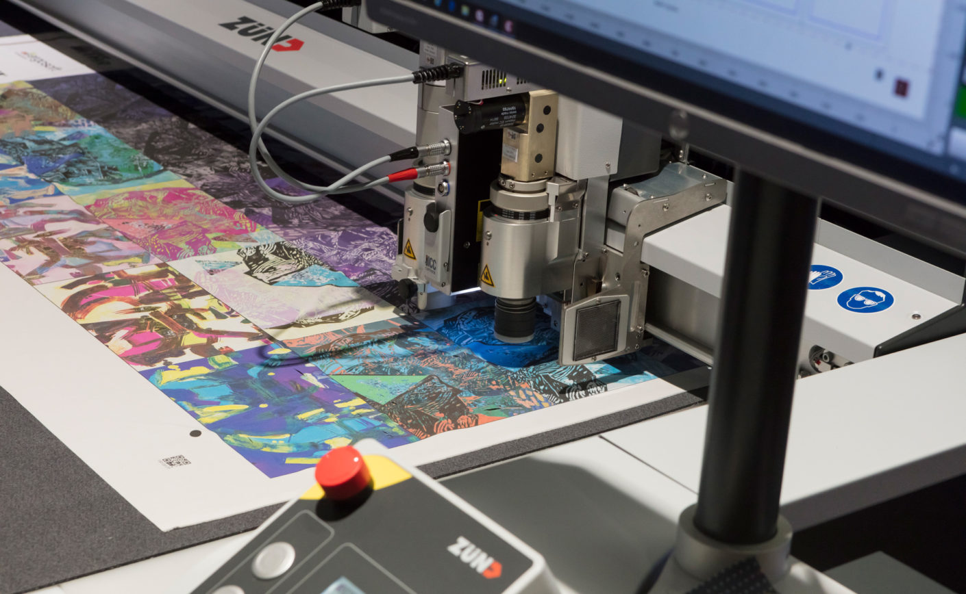 Visitors can get a good idea of digital textile production in the Digital Textile Micro Factory.