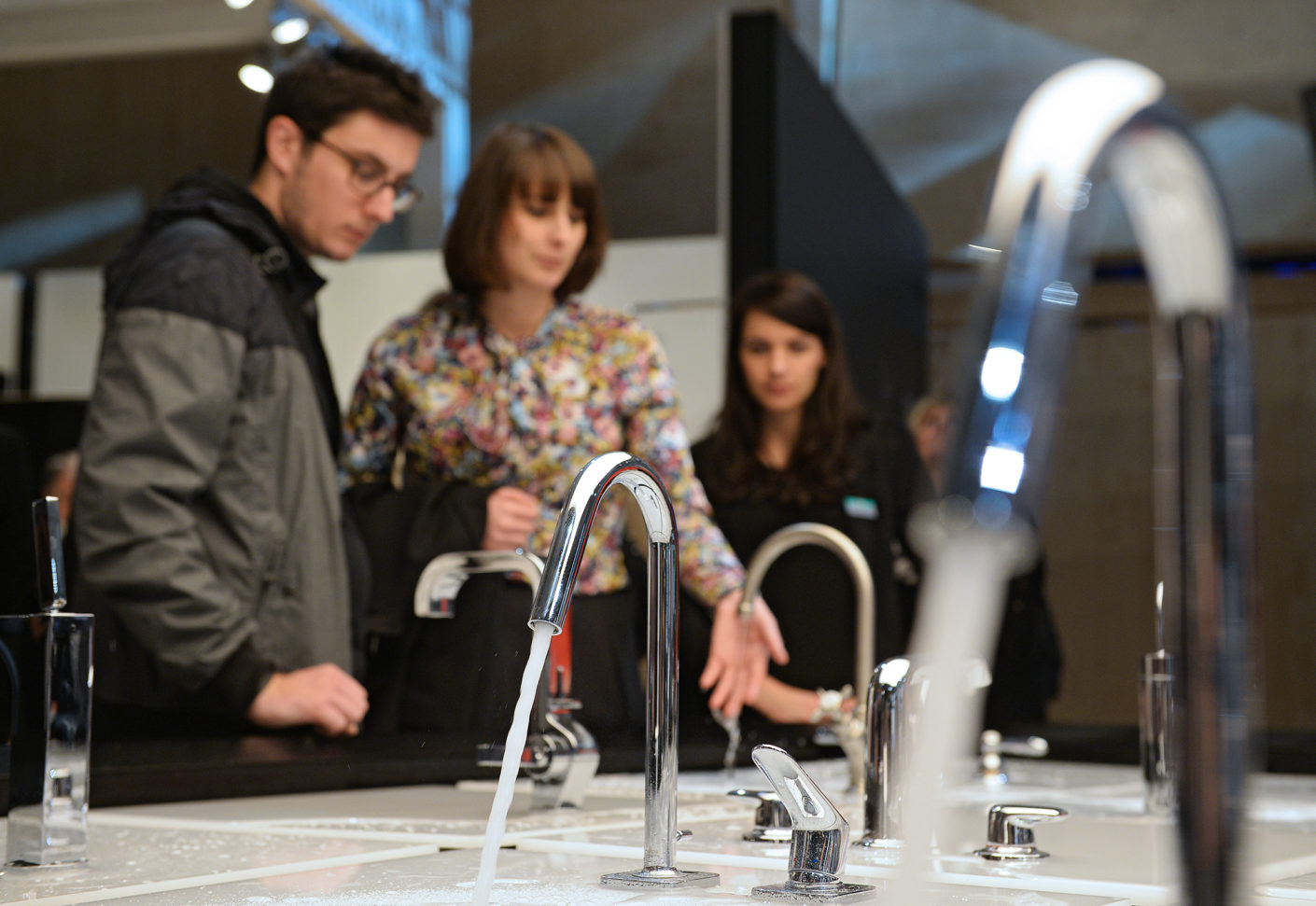 Architects, designers, planners, dealers and tradesmen – all of them find valuable inspiration at the exhibition for the combination of water and energy.
