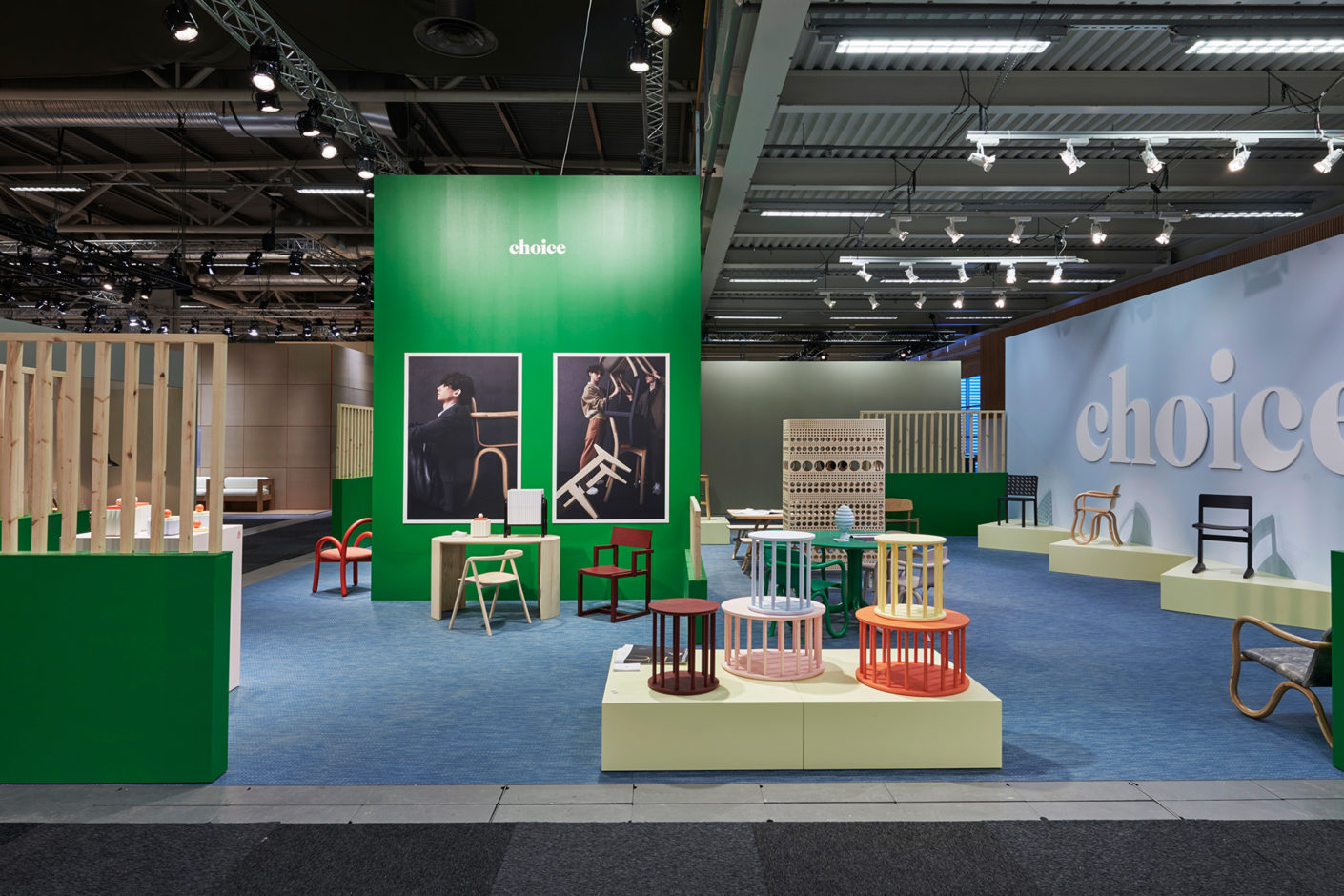 "Der Stand des Labels ""Made by Choice"" auf der Stockholm Furniture & Light Fair 2020"