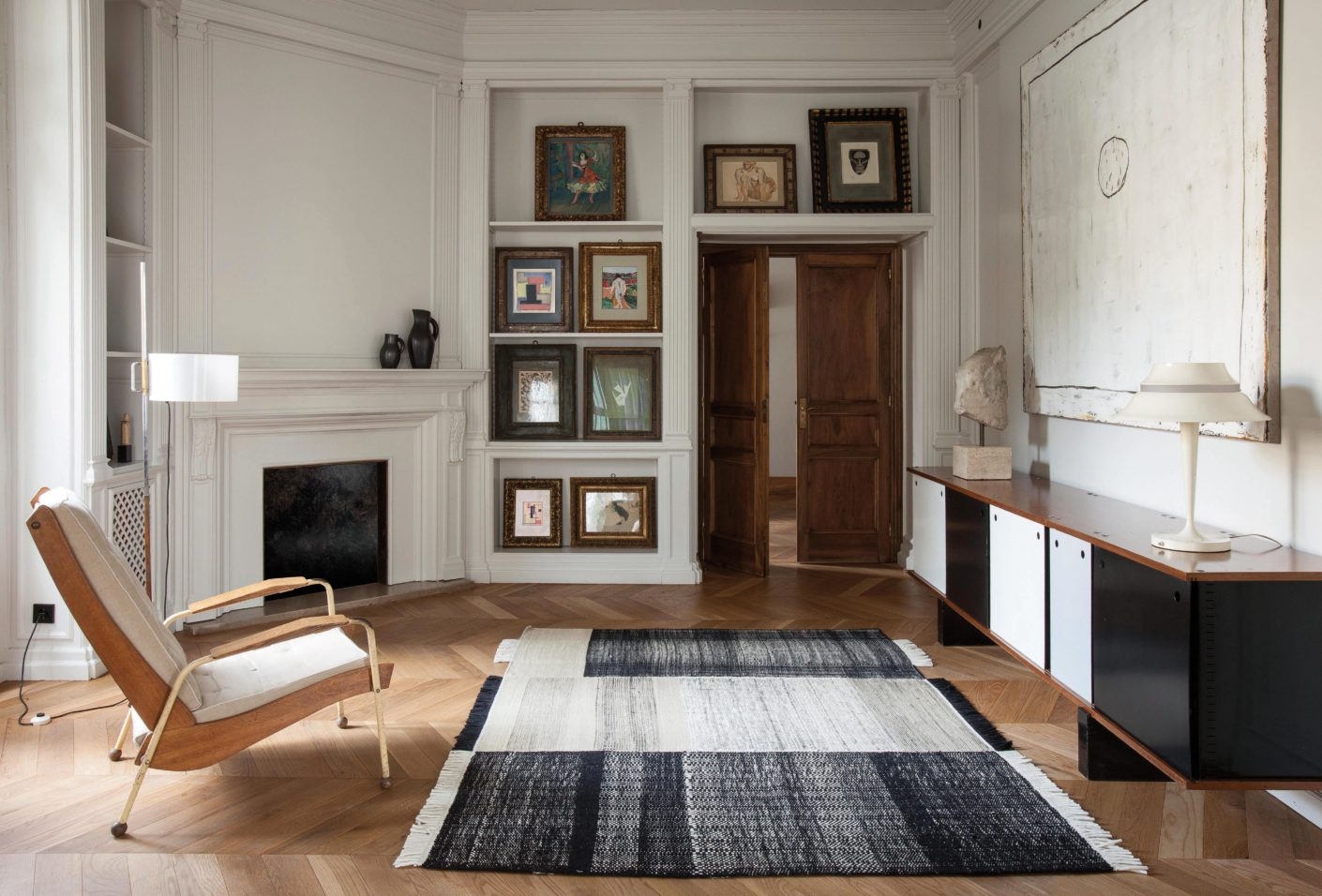 """""""A carpet always has a strong presence in a house and is often the very first thing you see on entering a room,"""" comments Nani Marquina."""
