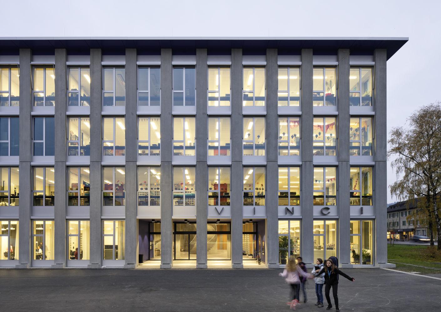 Pool Architekten Primarschulhaus Vinci Suhr Stylepark