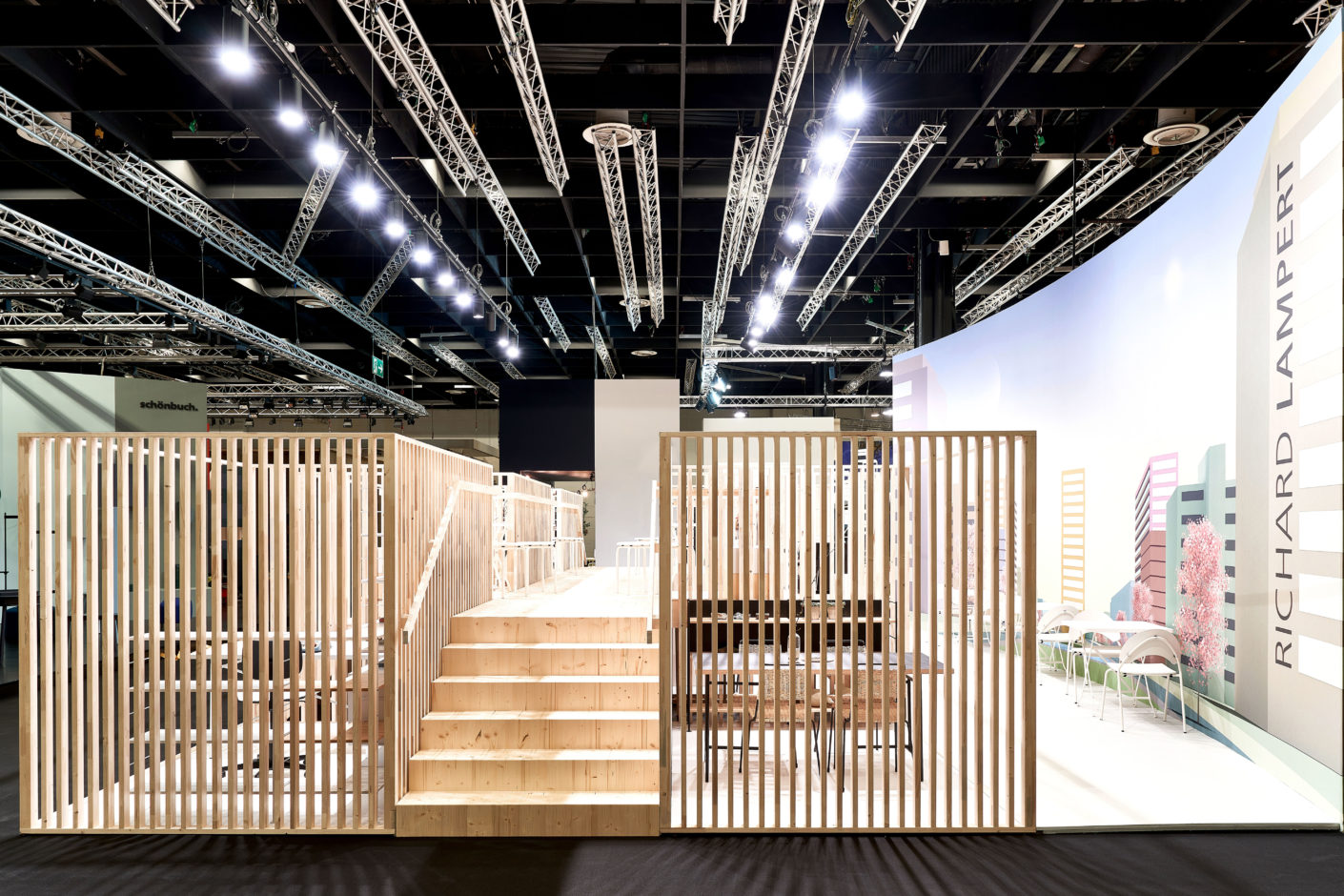 Stand Richard Lampert imm cologne 2020