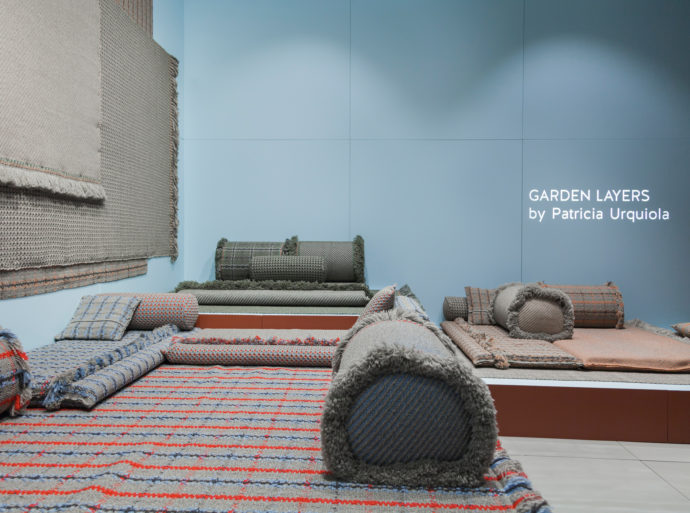 """Garden Layers"" by Patricia Urquiola for Gan Rugs."