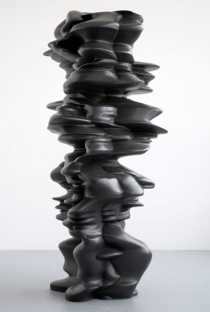 "Tony Cragg, ""It is, it isn't"", Bronze, 2010"