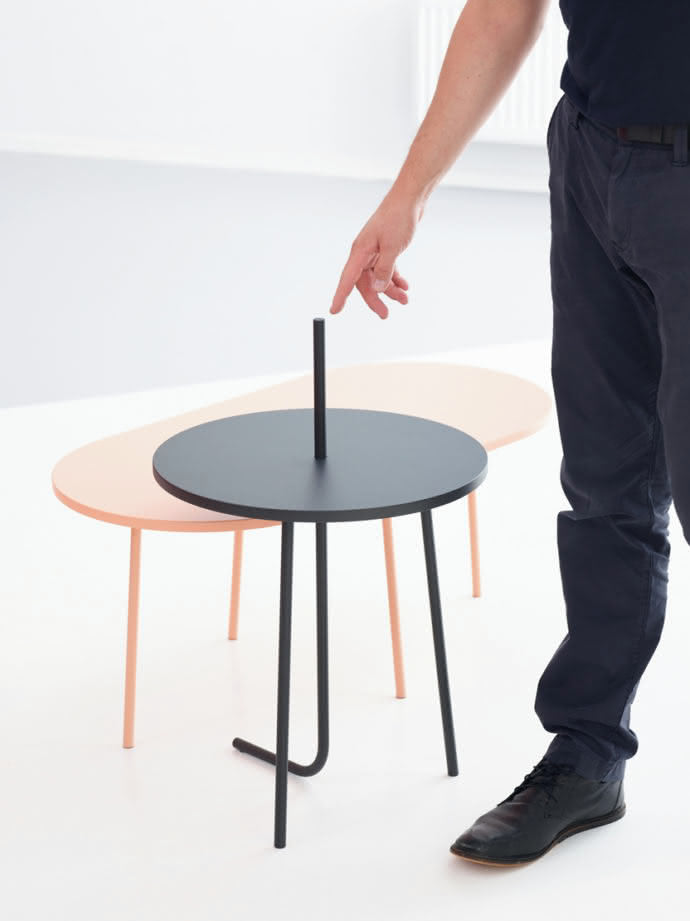 "Sidetable from the collection ""Bond"" by Aust & Amelung"