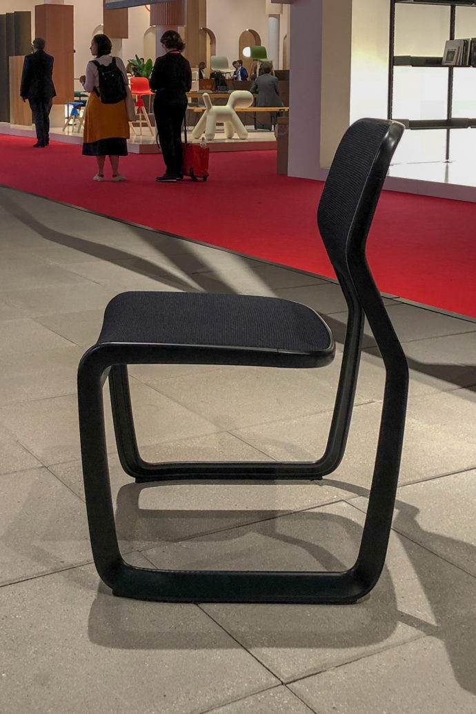 Knoll Salone18 Aluminium Chair Mark Newso Fap Stylepark