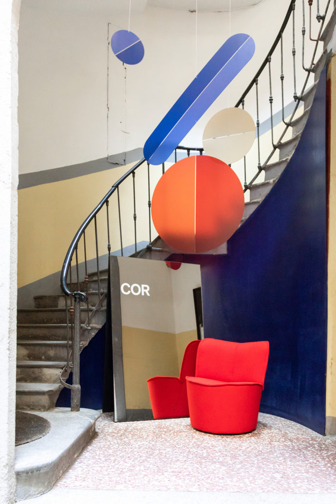 COR Showroom Milan, Via Solferino