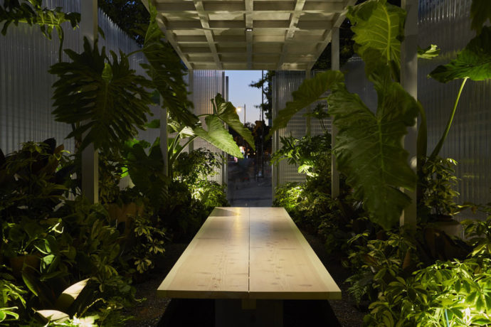 Connect-Space, MINI Living Forests, London Design Festrival 2016