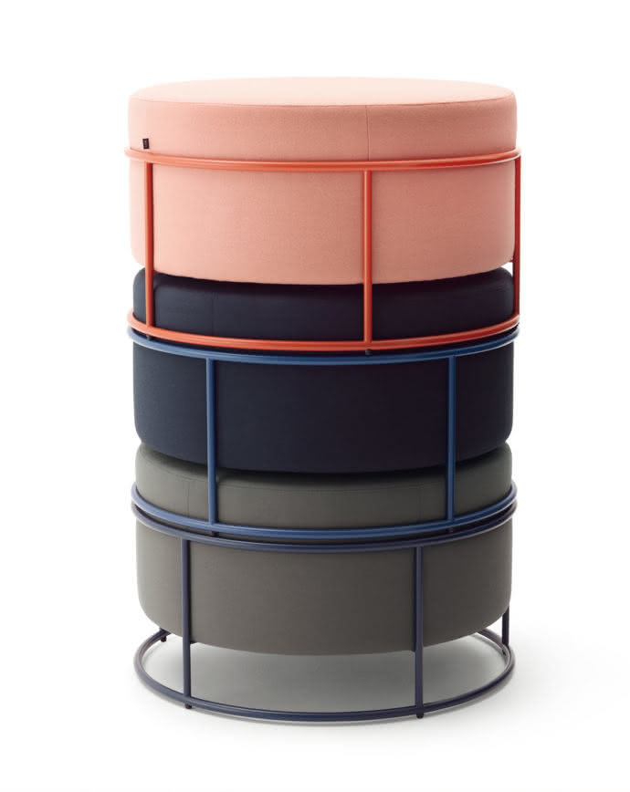 "Pouf ""Drop"" by Studio Pauline Deltour"