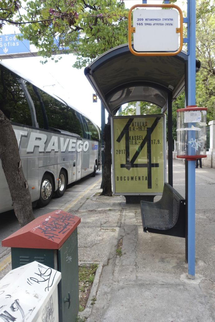 Documenta_Poster_Athens_Bus Stop