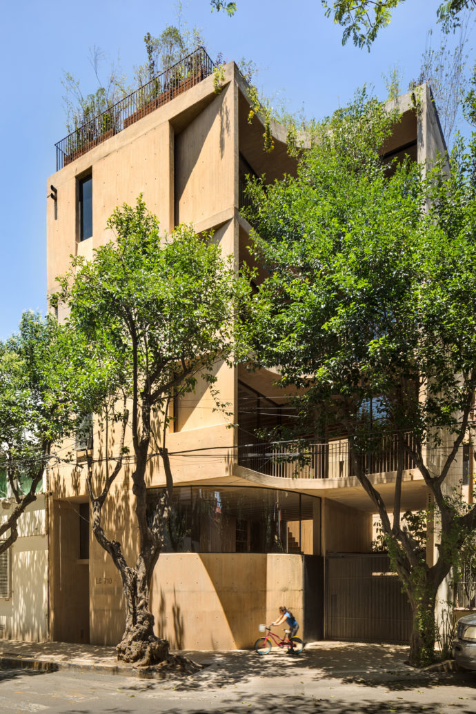 LC710 Apartment building by Taller Hector Barroso Mexico City, Stylepark