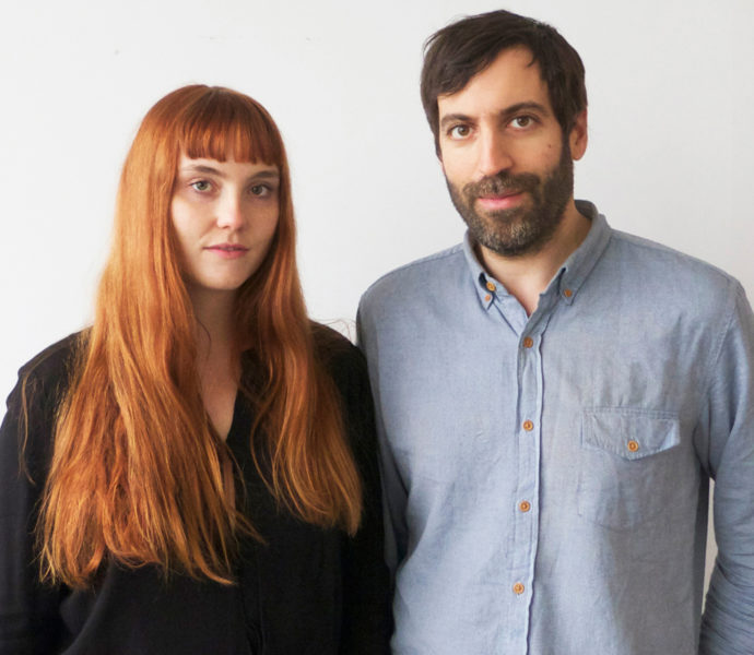 Katrina Vonnegut and Brian Kraft