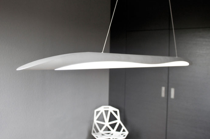 "In 2010 Markus Bischof presented his LED luminaire ""T1"" in the ""Young Design"" section at Light + Building – the establishment of his ""design bureau"" in Nuremberg."