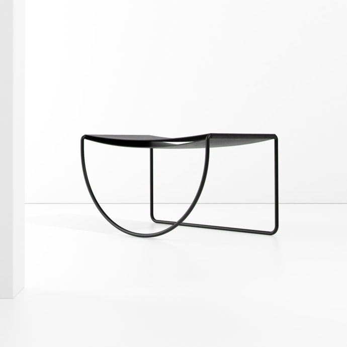 """Circunscrito"" Chair/ Side Table"