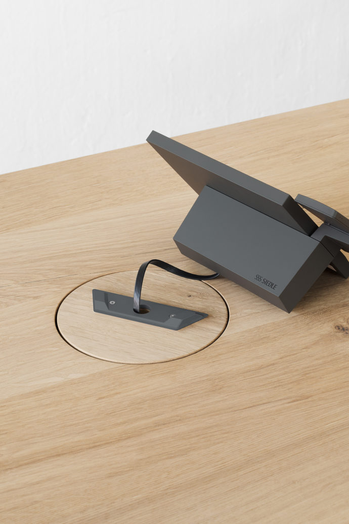 Siedle Axiom, e15 Wire Management, Stylepark