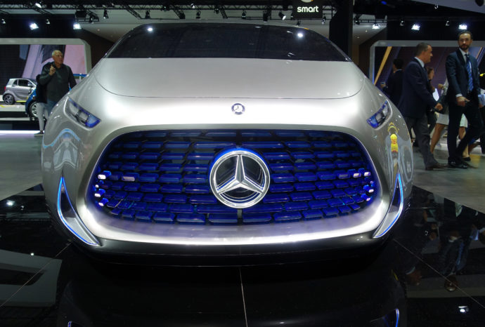 Stylepark Mercedes Vision Concept Electric IAA2017