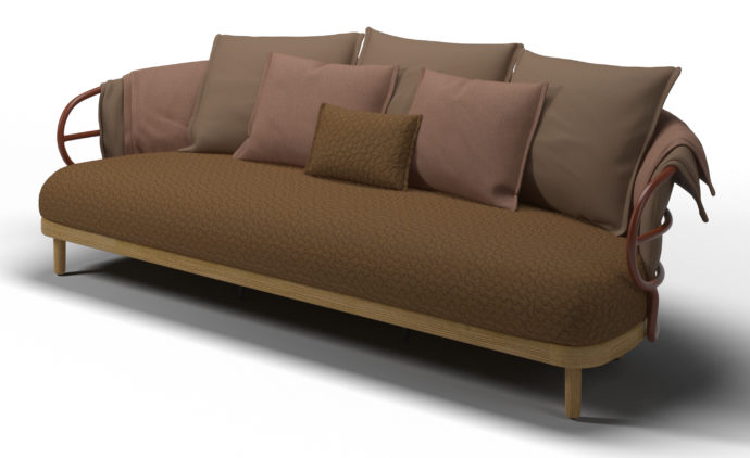 Stylepark Selected Salone del Mobile 2018 Gloster Dune 3 Seater Sofa