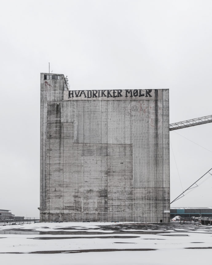 THE SILO in construction